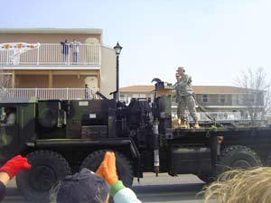 Troops at St. Patrick's Day
