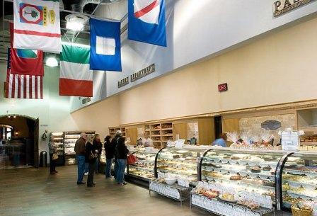 Calandra's Italian Village Opens to a large Italian-style bakery.
